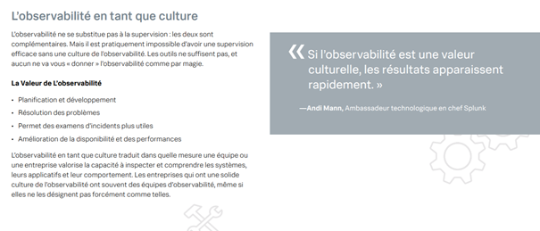 L'observabilité en tant que culture